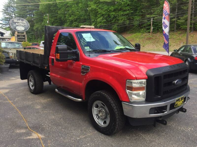2010 Ford F-350 Super Duty for sale at Bladecki Auto in Belmont NH