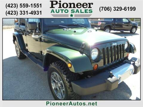 2011 Jeep Wrangler Unlimited for sale at PIONEER AUTO SALES LLC in Cleveland TN