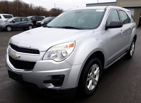 2012 Chevrolet Equinox for sale at Angelo's Auto Sales in Lowellville OH
