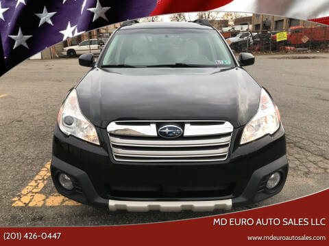 2014 Subaru Outback for sale at MD Euro Auto Sales LLC in Hasbrouck Heights NJ
