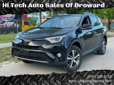 2017 Toyota RAV4 for sale at Hi Tech Auto Sales Of Broward in Hollywood FL