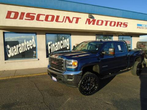 2016 GMC Sierra 2500HD for sale at Discount Motors in Pueblo CO