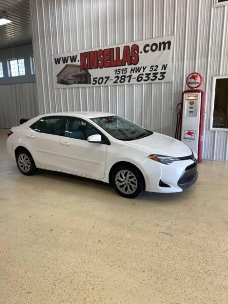 2018 Toyota Corolla for sale at Kinsellas Auto Sales in Rochester MN