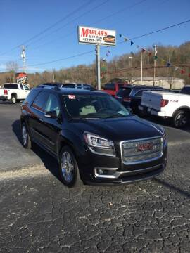 2015 GMC Acadia for sale at MARLAR AUTO MART SOUTH in Oneida TN