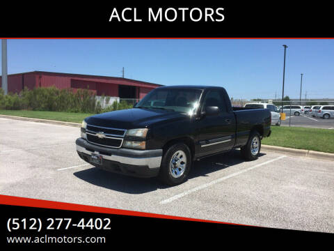 2006 Chevrolet Silverado 1500 for sale at ACL MOTORS in Austin TX