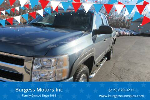 2009 Chevrolet Silverado 1500 for sale at Burgess Motors Inc in Michigan City IN