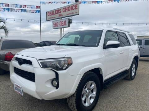 2016 Toyota 4Runner for sale at Dealers Choice Inc in Farmersville CA