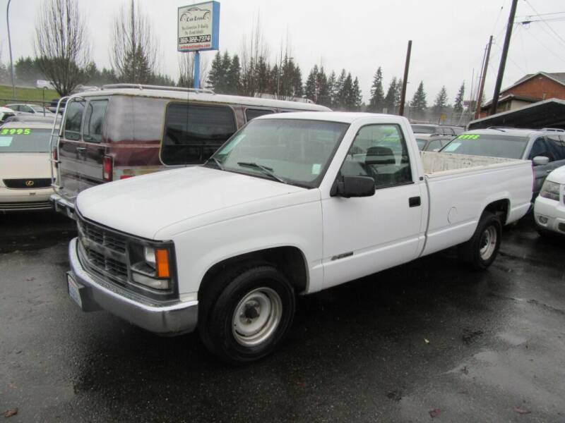 1998 Chevrolet C/K 1500 Series for sale at Car Link Auto Sales LLC in Marysville WA