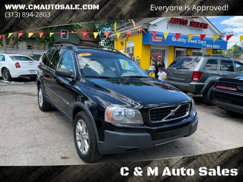 2005 Volvo XC90 for sale at C & M Auto Sales in Detroit MI