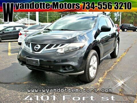 2012 Nissan Murano for sale at Wyandotte Motors in Wyandotte MI