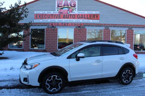2016 Subaru Crosstrek for sale at EXECUTIVE AUTO GALLERY INC in Walnutport PA