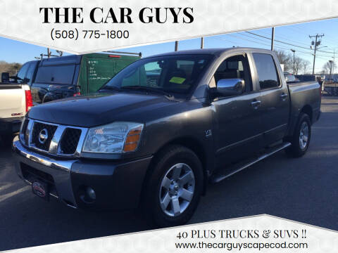2004 Nissan Titan for sale at The Car Guys in Hyannis MA