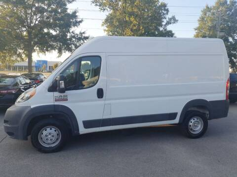 2017 RAM ProMaster Cargo for sale at Econo Auto Sales Inc in Raleigh NC