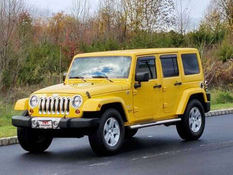 2011 Jeep Wrangler Unlimited for sale at R & R AUTO SALES in Poughkeepsie NY