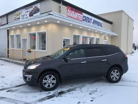 2015 Chevrolet Traverse for sale at Suarez Auto Sales in Port Huron MI