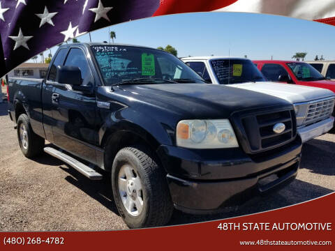 2006 Ford F-150 for sale at 48TH STATE AUTOMOTIVE in Mesa AZ