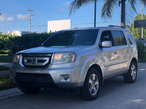 2009 Honda Pilot for sale at L G AUTO SALES in Boynton Beach FL