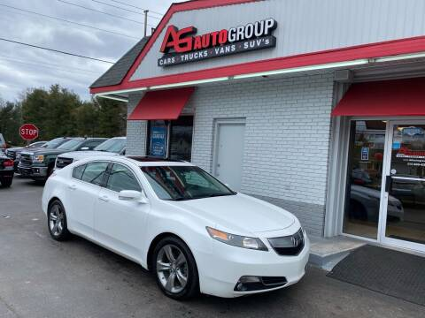2012 Acura TL for sale at AG AUTOGROUP in Vineland NJ