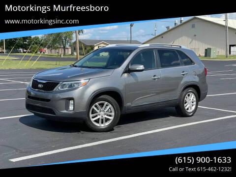 2015 Kia Sorento for sale at Motorkings Murfreesboro in Murfreesboro TN