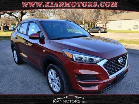 2020 Hyundai Tucson for sale at KIAN MOTORS INC in Plano TX