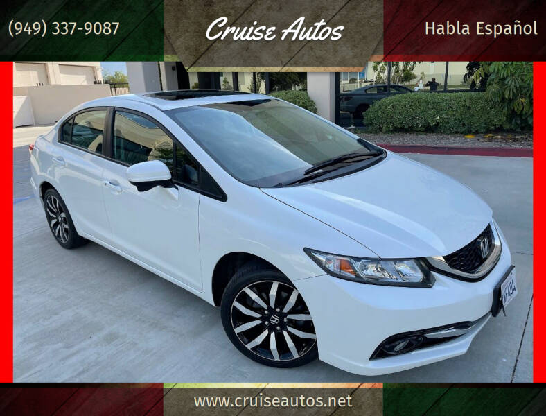 2014 Honda Civic for sale at Cruise Autos in Corona CA