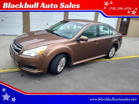 2012 Subaru Legacy for sale at Blackbull Auto Sales in Ozone Park NY