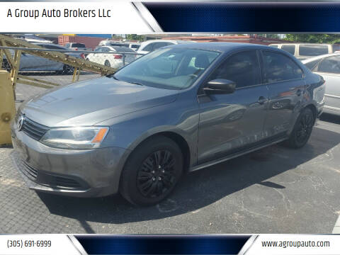 2014 Volkswagen Jetta for sale at A Group Auto Brokers LLc in Opa-Locka FL