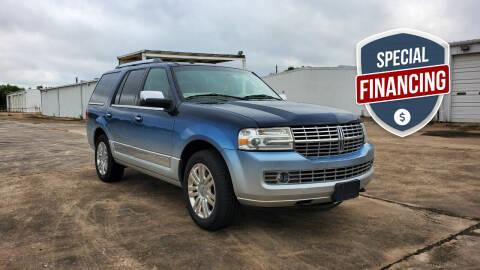 2014 Lincoln Navigator for sale at ZORA MOTORS in Rosenberg TX