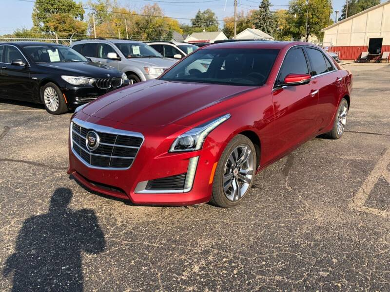 2014 Cadillac CTS for sale at Dean's Auto Sales in Flint MI