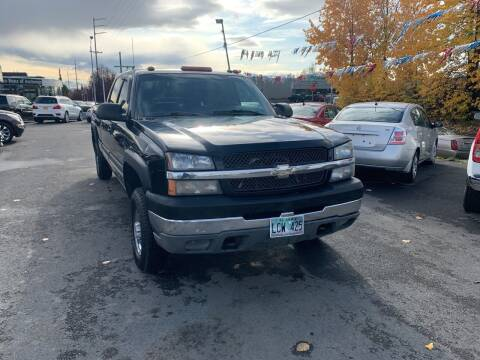 2003 Chevrolet Silverado 2500HD for sale at ALASKA PROFESSIONAL AUTO in Anchorage AK