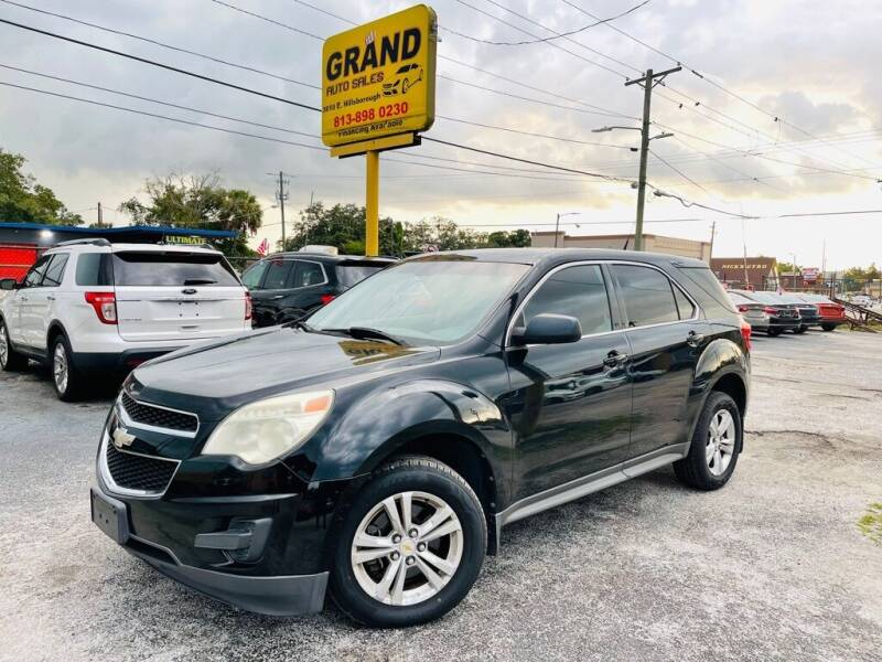 2011 Chevrolet Equinox for sale at Grand Auto Sales in Tampa FL