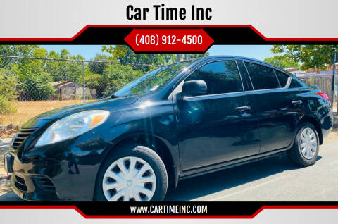 2014 Nissan Versa for sale at Car Time Inc in San Jose CA