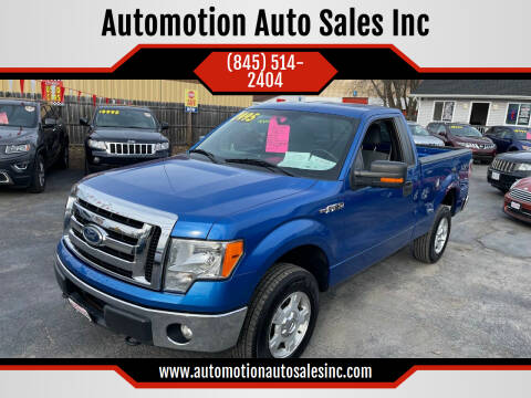 2011 Ford F-150 for sale at Automotion Auto Sales Inc in Kingston NY