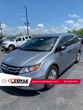 2016 Honda Odyssey for sale at COYLE GM - COYLE NISSAN - New Inventory in Clarksville IN