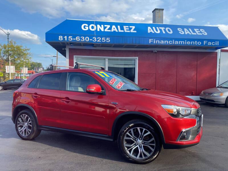 2017 Mitsubishi Outlander Sport for sale at Gonzalez Auto Sales in Joliet IL