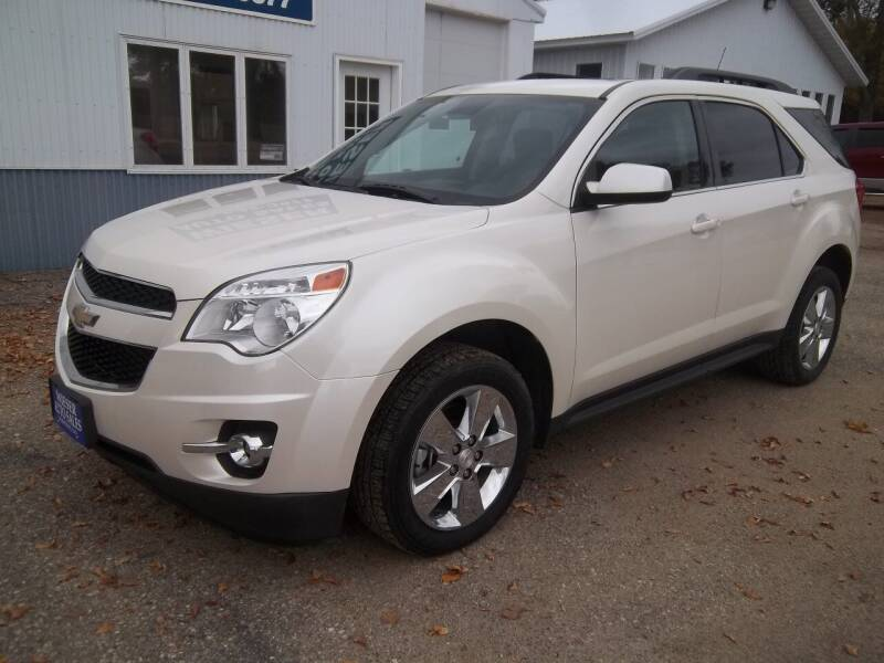 2013 Chevrolet Equinox for sale at Wieser Auto INC in Wahpeton ND
