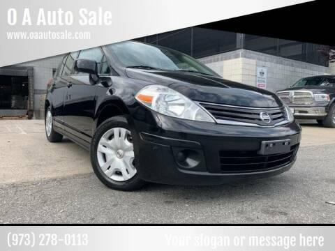 2010 Nissan Versa for sale at O A Auto Sale - O & A Auto Sale in Paterson NJ