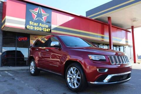 2014 Jeep Grand Cherokee for sale at Star Auto Inc. in Murfreesboro TN