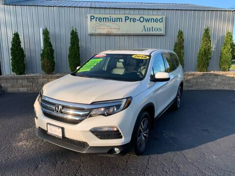 2018 Honda Pilot for sale at PREMIUM PRE-OWNED AUTOS in East Peoria IL