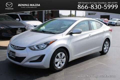 2016 Hyundai Elantra for sale at Bening Mazda in Cape Girardeau MO