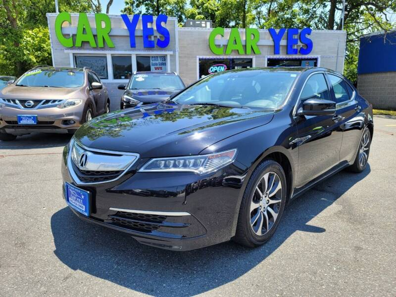 2015 Acura TLX for sale at Car Yes Auto Sales in Baltimore MD