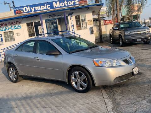 2008 Pontiac G6 for sale at Olympic Motors in Los Angeles CA