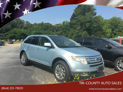 2008 Ford Edge for sale at Tri-County Auto Sales in Pendleton SC