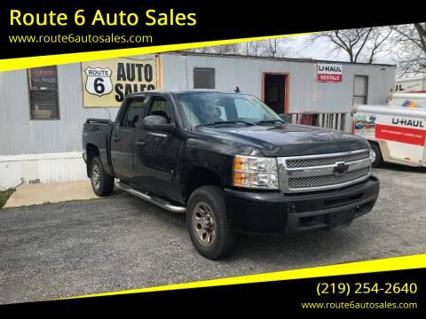 2009 Chevrolet Silverado 1500 for sale at Route 6 Auto Sales in Portage IN