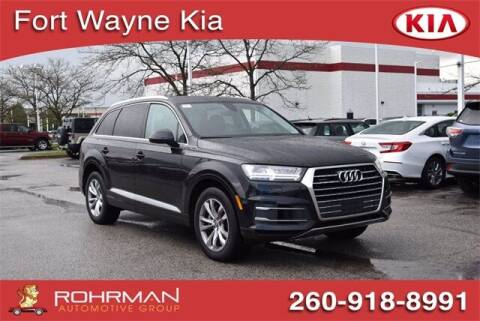 2018 Audi Q7 for sale at BOB ROHRMAN FORT WAYNE TOYOTA in Fort Wayne IN