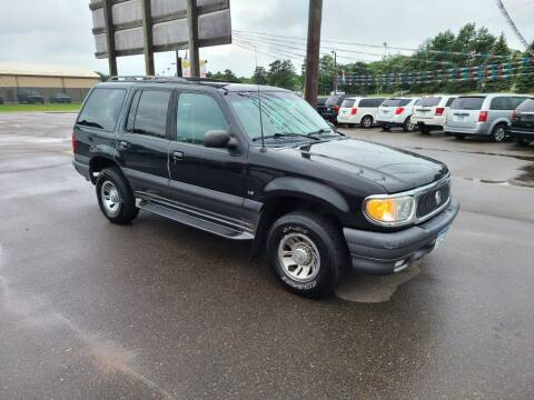 1999 Mercury Mountaineer for sale at Rum River Auto Sales in Cambridge MN
