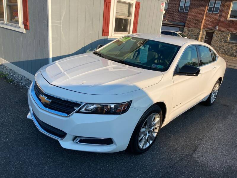 2017 Chevrolet Impala for sale at Sharon Hill Auto Sales LLC in Sharon Hill PA