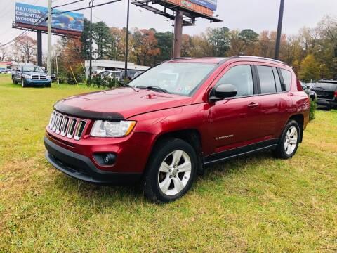 2012 Jeep Compass for sale at Carpro Auto Sales in Chesapeake VA