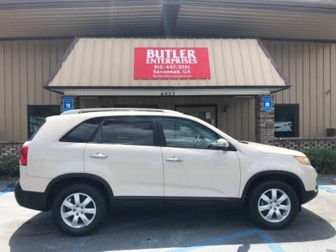 2011 Kia Sorento for sale at Butler Enterprises in Savannah GA