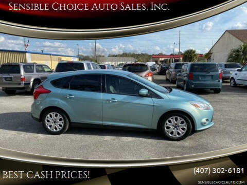 2012 Ford Focus for sale at Sensible Choice Auto Sales, Inc. in Longwood FL